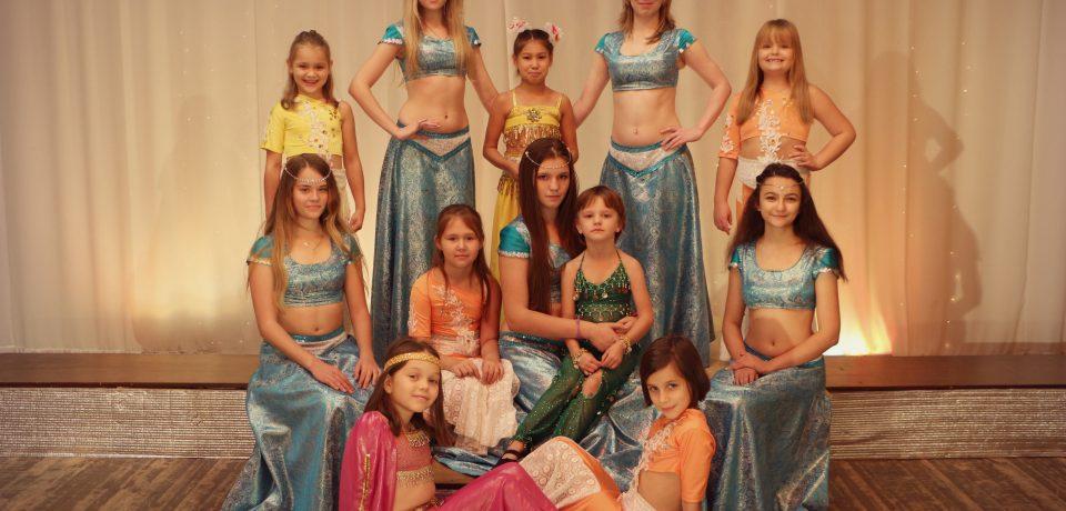 Коллектив восточного танца «Амаль» руководитель Юлия Байгужина