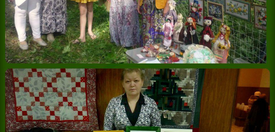 Коллектив прикладного творчества «Сувенир», руководитель Людмила Лекарева