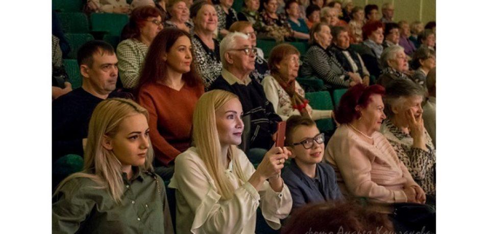 ДК Строитель Рябинушка 60 лет