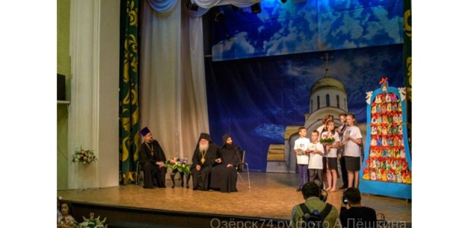 15 июля Озерск посетил настоятель Ватопедского монастыря, архимандрит Ефрем